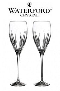 DropDown - Glassware - Pair Waterford elegance cabernet sauvignon