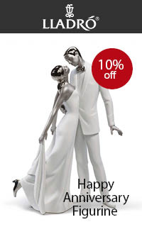 DropDown - Collectables - Lladro Happy Anniversary Redeco