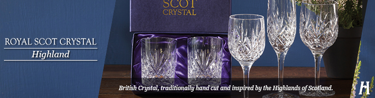 Royal Scot Crystal Highland Decanters