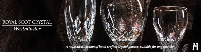 Royal Scot Crystal Westminster Decanters
