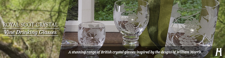 Royal Scot Vine Drinking Glasses
