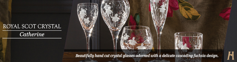 Royal Scot Crystal Catherine Drinking Glasses
