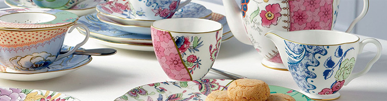 Wedgwood Butterfly Bloom Tea Service