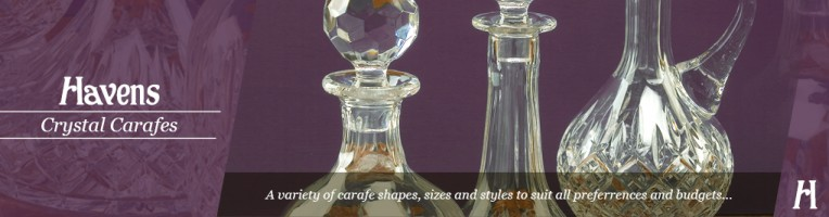 Crystal & Glass Carafes