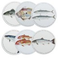 Set of 6 Fish Placemats (13189)