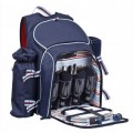 Coastal 4 person Insulated Picnic Backpack (16974)