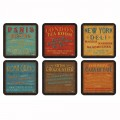 Lunchtime Coasters Set of 6 (21280)