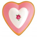 Sweet Stripe Heart Shaped Tray (23619)