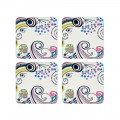 Cream Coasters Set of 4 (23838)