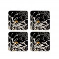 Set of 4 Charcoal Coasters (23860)