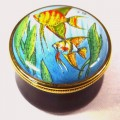 Angel Fish Enamel Box (28933)