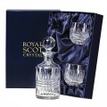 Presentation Box Small Round Spirit Decanter Gift Set (29390)