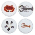 Set of 4 Shellfish Placemats (6284)