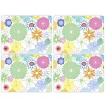 4 Crazy Daisy Large Tablemats (9192)