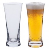 Dartington Crystal Box of 2 Beer or Lager Glasses (10108)