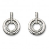 Swarovski Circle Pierced Earrings (10294)