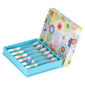 Crazy Daisy Set of 6 Teaspoons (11171)