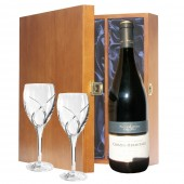 Drinking Gifts Luxury Red Wine and Waterford Wine Glasses (11209)