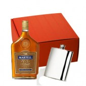 Drinking Gifts Brandy and Hip Flask Gift Set (11215)