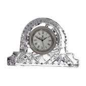 Waterford Crystal Lismore Large Cottage Clock (1127)