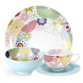 Crazy Daisy 5 Piece Place Setting (11318)