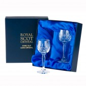 Royal Scot Box of 2 Port or Sherry Glasses (11795)
