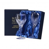Sapphire Box of 2 Large Wine Glasses (11804)