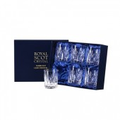 Sapphire Box of 6 Large Old Fashioned Tumblers (12338)