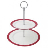 Aynsley China Two Tier Cake stand (12379)