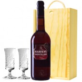 Drinking Gifts Harveys Amontillado Sherry Set (12993)