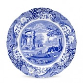 Blue Italian 30cm Buffet/Serving Plate (12996)