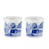 Blue Italian Set of 4  Egg Cups (12998)
