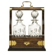 Decanter Tray Sets Double Tantalus (13414)