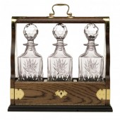 Decanter Tray Sets Triple Tantalus (13415)