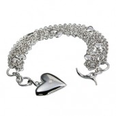 Hot Diamonds Clamour Locket Silver Bracelet (13527)