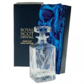 Flower of Scotland Square Spirit Decanter (13778)