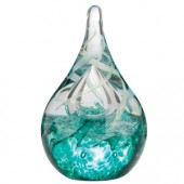 Caithness Glass Caress Emerald Paperweight (13866)