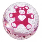 Caithness Glass Paperweights Teddy Bear Pink (13877)