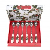 Holly And Ivy Set of 6 Tea Spoons (14085)