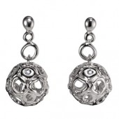Hot Diamonds Bali Orb Earrings (14347)