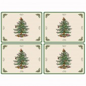 Christmas Tree 4 Christmas Tree Large Tablemats (14433)