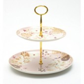 Maxwell & Williams Pink 2 Tier Cake Stand (14549)