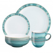 Denby Azure Coast 16 Piece Dinner Set (14712)