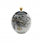 Monsoon by Denby Chrysanthemum Covered Sugar Bowl (14742)