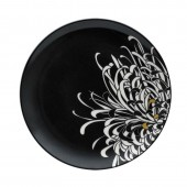 Monsoon by Denby Chrysanthemum 22cm Charcoal Starter Plate (14749)