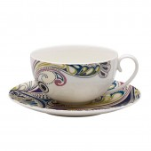 Monsoon by Denby Cosmic Cup and Saucer (14763)