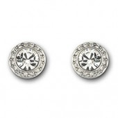 Swarovski Angelic Silver Pierced Earrings (15041)