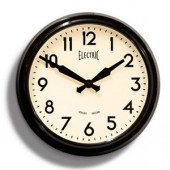 Newgate Clocks 50's Wall Clock Black (15066)