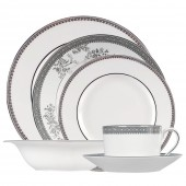 Vera Wang Lace Platinum 6 Piece Place Setting (15107)