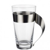 New Wave Latte Macchiato Glass and Holder (1510)